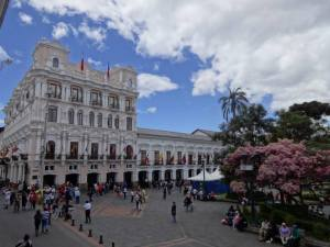 Independence Plaza (Plaza Grande) in Quito