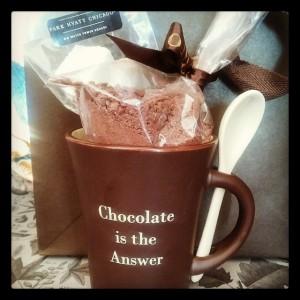 Chocolate wisdom