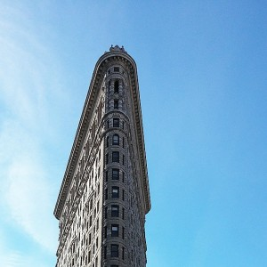 Flatiron Building NYC #onwardandupward