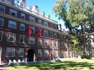 Quincy House at Harvard, where I woke up with a special dream