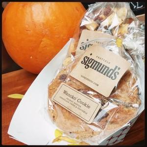 Sigmund's chocolate chip pretzel cookie