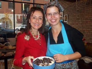 With Katherine Duncan of Katherine Anne Confections