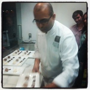 At our private tasting with Chef Santosh at Co.Co.Sala last year in DC