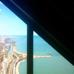 The view from 360Chicago on our Day of Mentoring: Helping Others to the Top