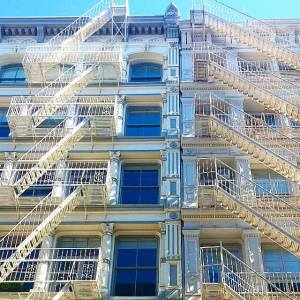 """White chocolate"" architecture in sweet Soho NYC"