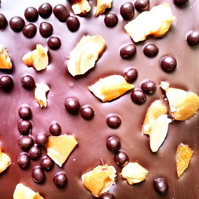 Co Co Sala roasted peanut chocolate bar