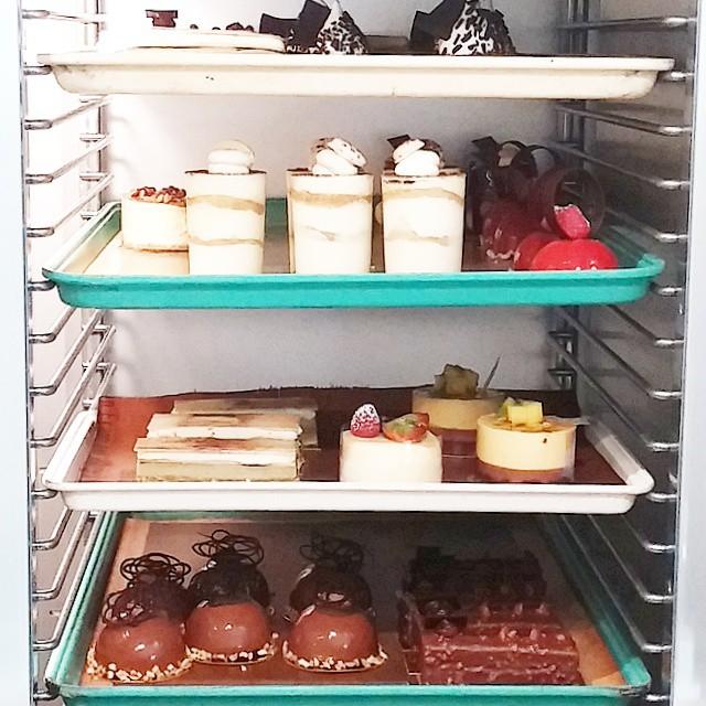 Pastry peek at Alliance Patisserie