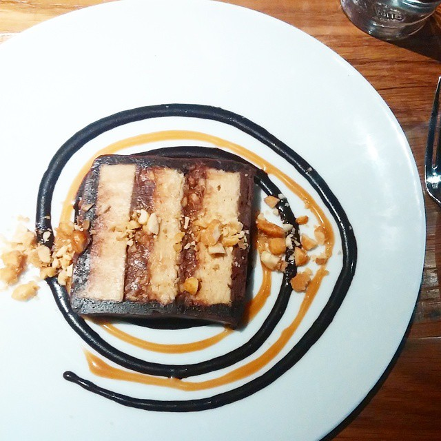 snickers cake at the partisan