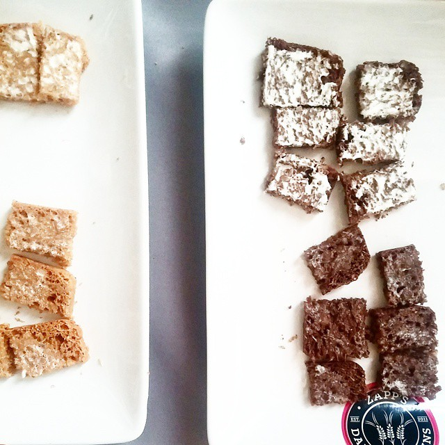 Intriguing mole bread by Zapps Grains, with cacao and chipotle