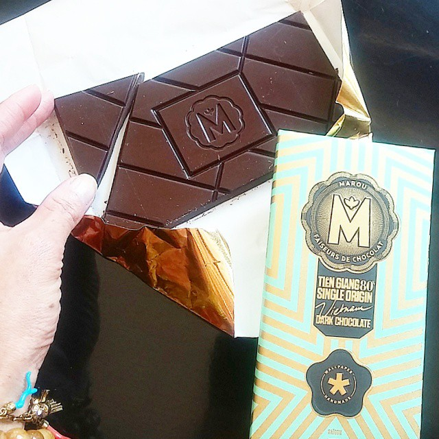 Marou Chocolate, made with cacao from Vietnam