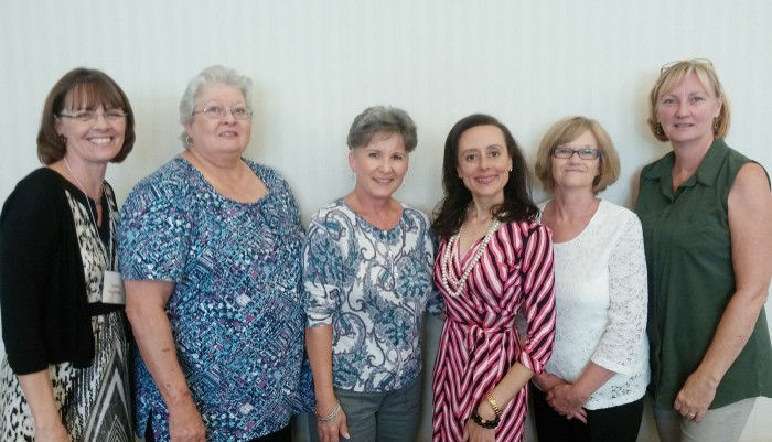 3rd from right with some of Springfield's philanthropic ladies
