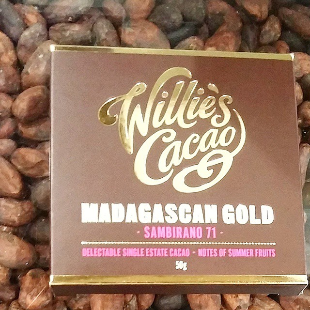 One of the best chocolate bars I have tasted in some time: Madagascar by Willie's Cacao