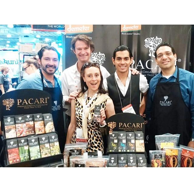 Having fun with Pacari founder Santiago Peralta and Team Pacari