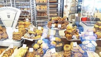 ... at Tatte Bakery in Harvard Square ...