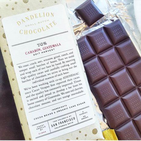 dandelion chocolate guatemala cahabon