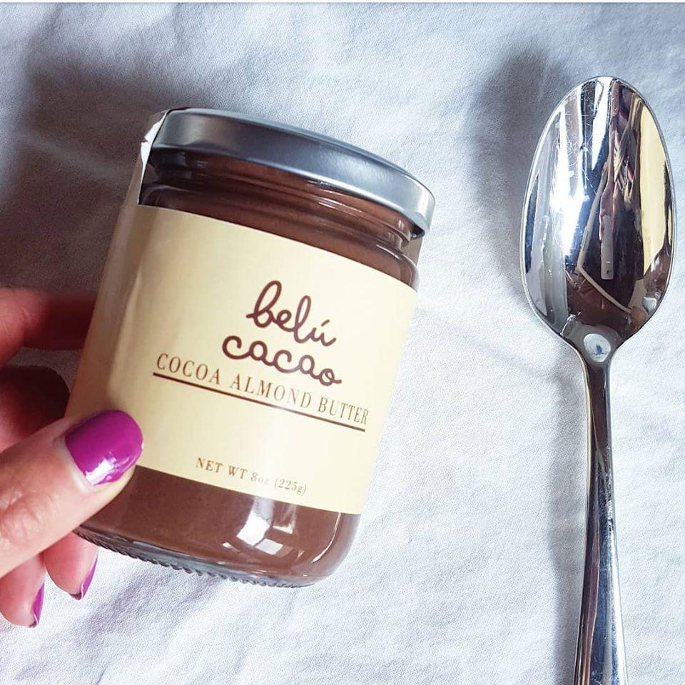 belu cocoa almond butter