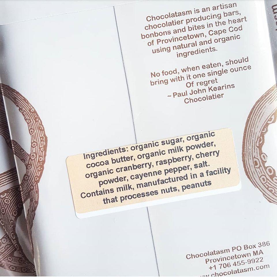 chocolatasm hot pink ingredients