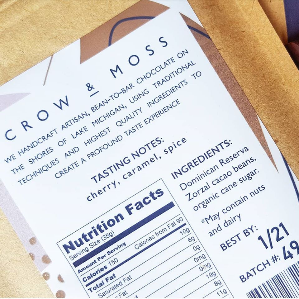 crow and moss ingredients